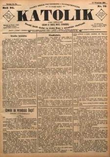 Katolik, 1891, R. 24, nr 73