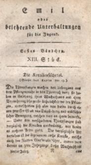 Emil oder belehrende Unterhaltungen für die Jugend, 1805, Jg. 5, Bd. 1, St. 13
