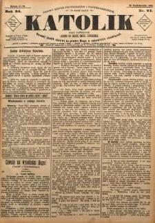 Katolik, 1891, R. 24, nr 84