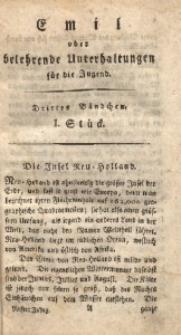 Emil oder belehrende Unterhaltungen für die Jugend, 1805, Jg. 5, Bd. 3, St. 1