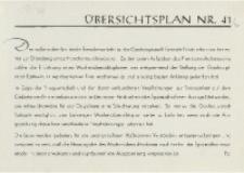 Übersichtsplan, 1941, Nr. 41