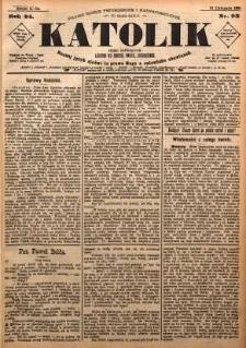 Katolik, 1891, R. 24, nr 93