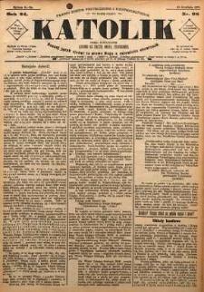 Katolik, 1891, R. 24, nr 98