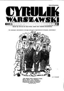 Cyrulik Warszawski, 1930, R. 5, nr 28