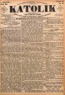 Katolik, 1892, R. 25, nr 9