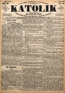 Katolik, 1892, R. 25, nr 19