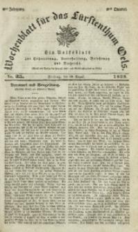 Wochenblatt für das Fürstenthum Oels, 1839, Jg. 6, No. 35