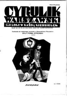 Cyrulik Warszawski, 1930, R. 5, nr 36