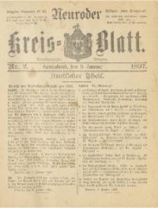 Neuroder Kreis-Blatt, 1897, Jg. 43, Nr. 2