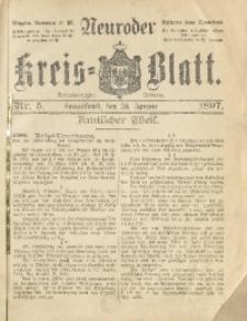 Neuroder Kreis-Blatt, 1897, Jg. 43, Nr. 5