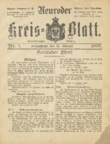 Neuroder Kreis-Blatt, 1897, Jg. 43, Nr. 7