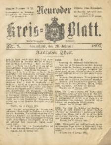 Neuroder Kreis-Blatt, 1897, Jg. 43, Nr. 8