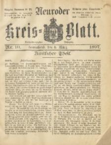 Neuroder Kreis-Blatt, 1897, Jg. 43, Nr. 10