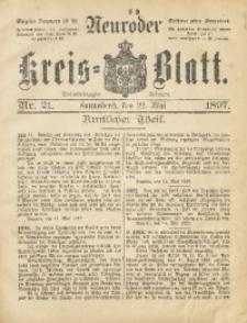 Neuroder Kreis-Blatt, 1897, Jg. 43, Nr. 21