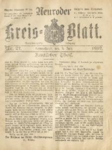 Neuroder Kreis-Blatt, 1897, Jg. 43, Nr. 27
