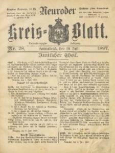 Neuroder Kreis-Blatt, 1897, Jg. 43, Nr. 28