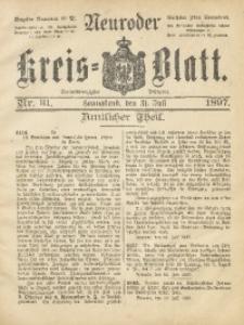 Neuroder Kreis-Blatt, 1897, Jg. 43, Nr. 31