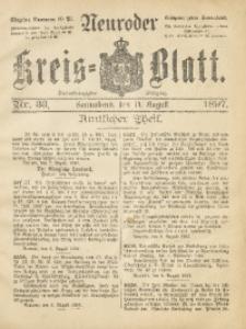 Neuroder Kreis-Blatt, 1897, Jg. 43, Nr. 33
