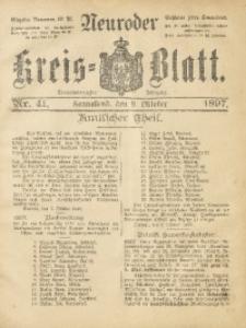 Neuroder Kreis-Blatt, 1897, Jg. 43, Nr. 41