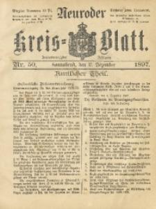 Neuroder Kreis-Blatt, 1897, Jg. 43, Nr. 50