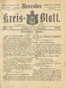 Neuroder Kreis-Blatt, 1897, Jg. 43, Nr. 52