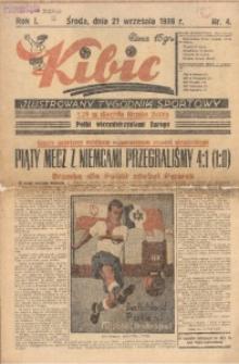 Kibic, 1938, R. 1, nr 4