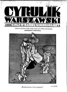 Cyrulik Warszawski, 1930, R. 5, nr 52