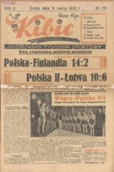 Kibic, 1939, R. 2, nr 29