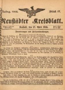 Neustädter Kreisblatt, 1905, Jg. 63, St. 17