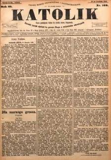 Katolik, 1892, R. 25, nr 109