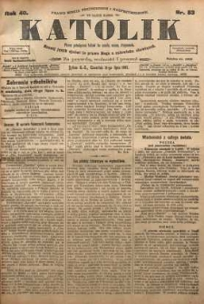 Katolik, 1907, R. 40, nr 83