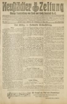 Neustädter Zeitung, 1918, Jg. 29, Nr. 67