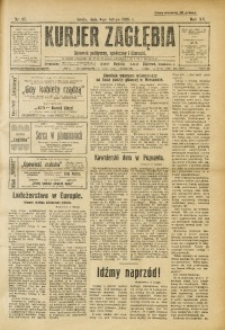 Kurjer Zagłębia, 1925, R. 15 [!], nr 27