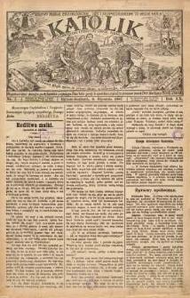 Katolik, 1887, R. 20, nr 1
