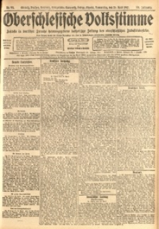 Oberschlesische Volksstimme, 1912, Jg. 38, Nr. 93