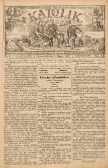 Katolik, 1887, R. 20, nr 17