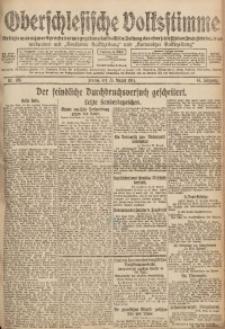 Oberschlesische Volksstimme, 1918, Jg. 44, Nr. 193