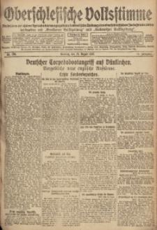 Oberschlesische Volksstimme, 1918, Jg. 44, Nr. 195