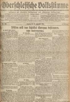 Oberschlesische Volksstimme, 1918, Jg. 44, Nr. 219