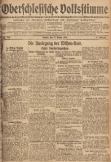 Oberschlesische Volksstimme, 1918, Jg. 44, Nr. 249