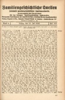 Familiengeschichtliche Quellen, 1934/1937, Bd. 8, H. 103 (Schr-Schu)