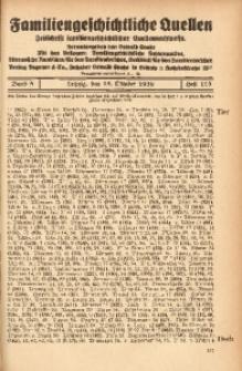 Familiengeschichtliche Quellen, 1934/1937, Bd. 8, H. 115 (Tier-Tres)