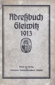 Adreßbuch Gleiwitz 1913