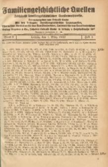 Familiengeschichtliche Quellen, 1937/1939, Bd. 9, H. 3 (Ahle-Ande)