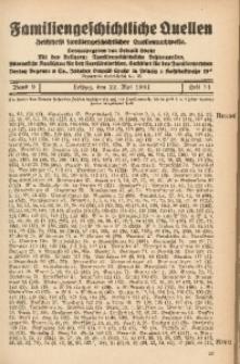 Familiengeschichtliche Quellen, 1937/1939, Bd. 9, H. 14 (Brand-Brie)