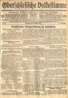 Oberschlesische Volksstimme, 1916, Jg. 42, Nr. 198