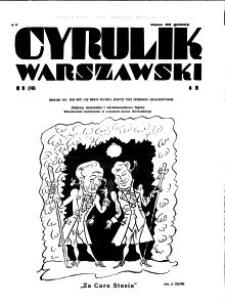Cyrulik Warszawski, 1931, R. 6, nr 9