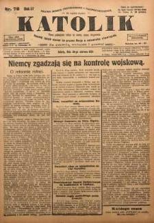 Katolik, 1924, R. 57, nr 78