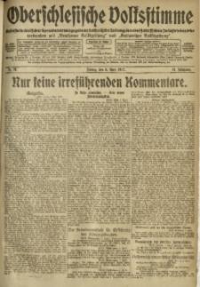 Oberschlesische Volksstimme, 1917, Jg. 43, Nr. 79