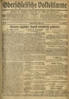 Oberschlesische Volksstimme, 1917, Jg. 43, Nr. 97